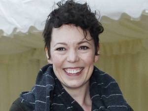 Olivia Colman arrive for a reception for the British Film Industry held by Britain's Queen Elizabeth II and The Duke of Edinburgh at Windsor Castle