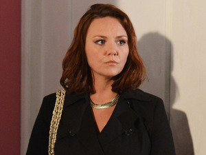 Janine returns to Albert Square
