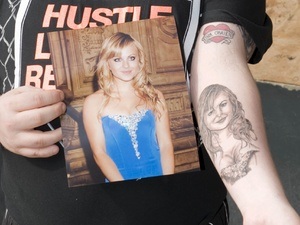 Tina O&#39;Brien fan, fan tattoos, coronation street