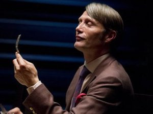 Mads Mikkelson as Dr. Hannibal Lecter in Hannibal S01E01: &#39;Apertif&#39;