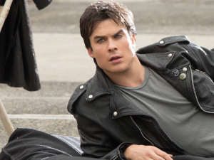 Ian Somerhalder as Damon Salvatore in The Vampire Diaries S04E17: &#39;Because The Night&#39;