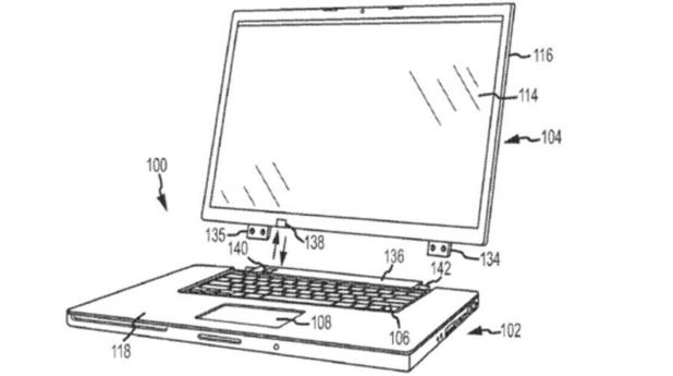 Apple patent for a hybrid laptop