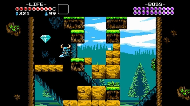 'Shovel Knight' screen