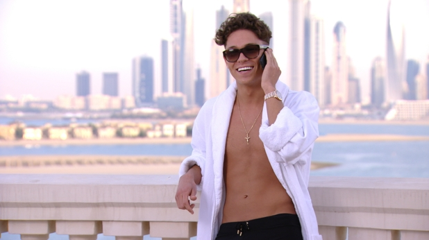 Joey Essex on the phone