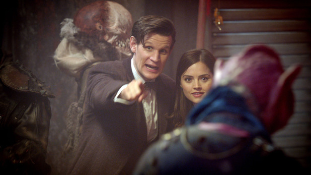 The Doctor (Matt Smith) & Clara (Jenna-Louise Coleman)