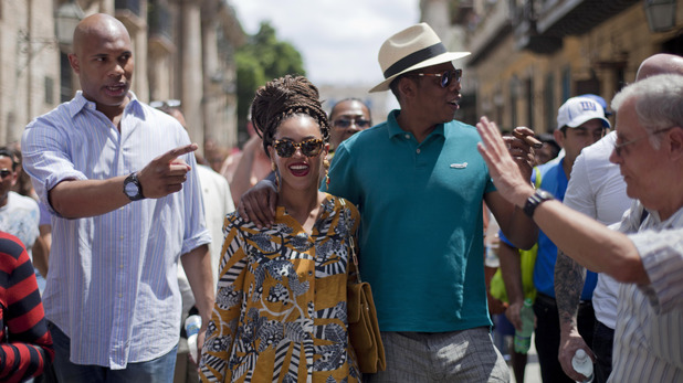 Beyonce and Jay-Z tour Old Havana in Cuba where they are celebrating their fifth wedding anniversary