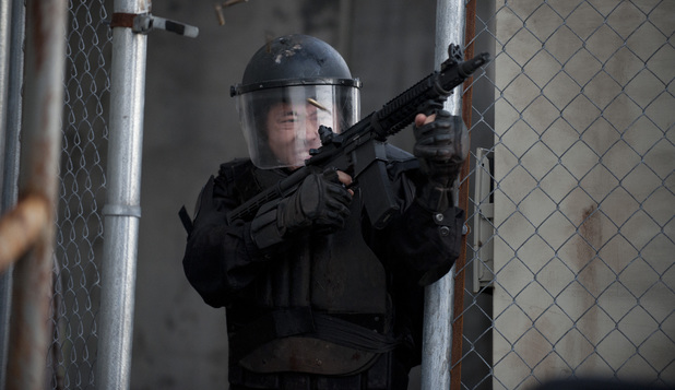 Glenn (Steven Yeun) in The Walking Dead S03E16: 'Welcome to the Tombs'
