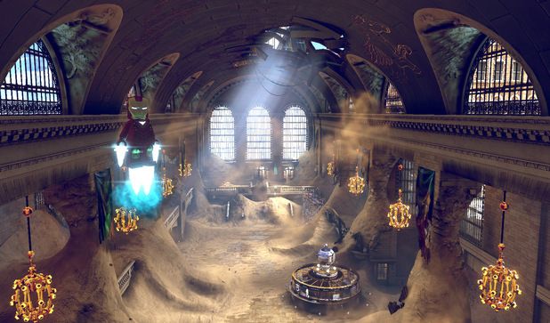 The central station in LEGO Marvel Heroes
