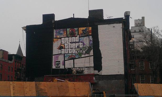 GTA 5 New York City mural