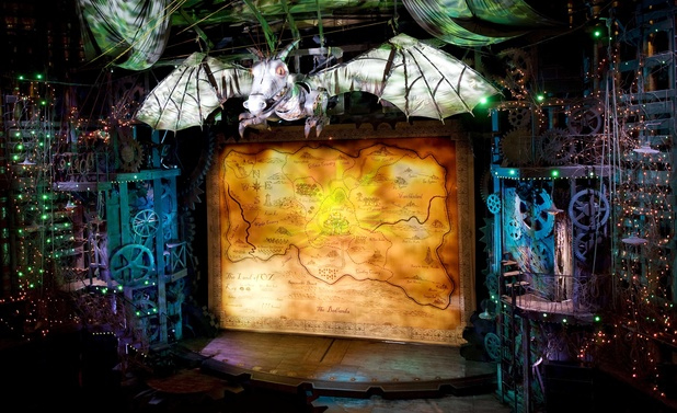 The 'Wicked' stage at the Apollo Theater