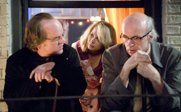 Philip Seymour Hoffman, Tom Noonan, Michelle Williams in 'Synecdoche, New York' (2008)