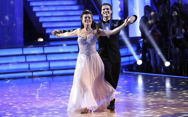 Dancing with the Stars - week 3: Lisa Vanderpump and Gleb Savchenko