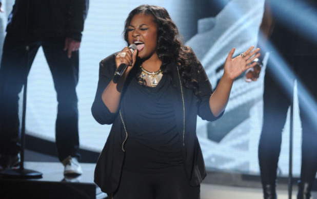 Candice Glover performs on American Idol