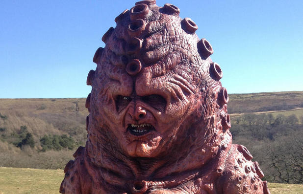 A Zygon in 'Doctor Who's 50th anniversary special.