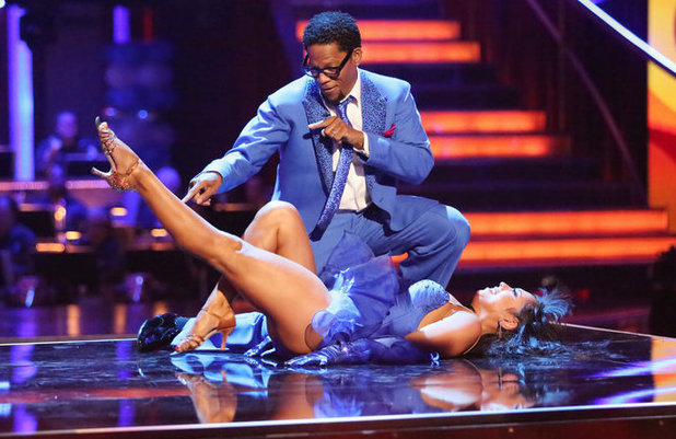 Dancing with the Stars - week 3: D.L. Hughley and Cheryl Burke
