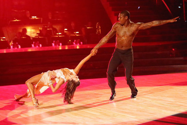 Dancing with the Stars - week 3: Karina Smirnoff and Jacoby Jones