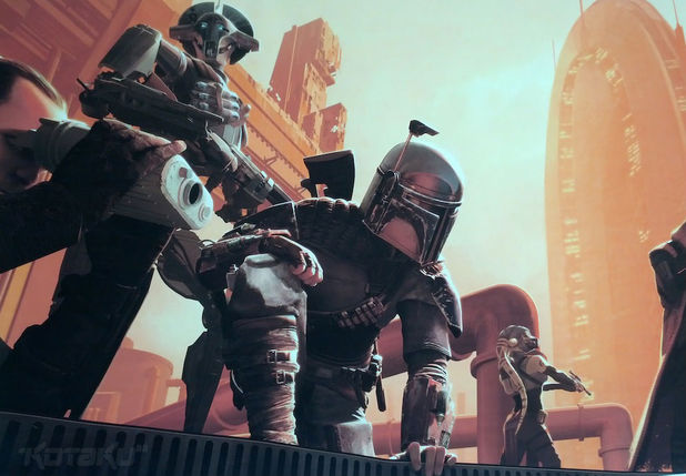 'Star Wars 1313' was based on Boba Fett, says report