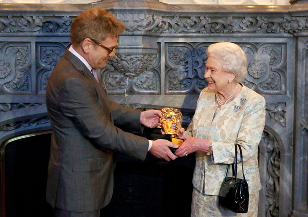 Queen Elizabeth II receives an honorary Bafta
