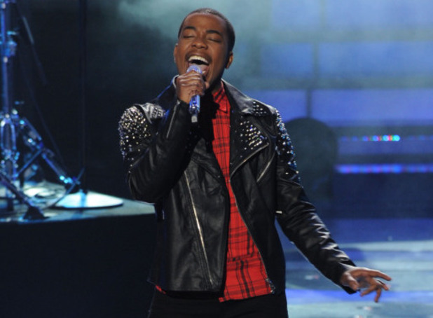 Burnell Taylor performs on American Idol