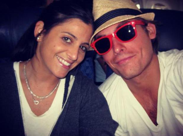 Kevin Zegers and fiancée Jaime Feld