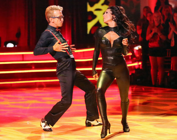 Dancing with the Stars - week 3: Andy Dick and Sharna Burgess