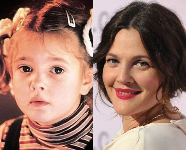 Drew Barrymore Child Actors Then Amp Now Digital Spy