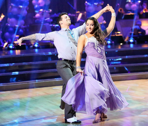 Dancing with the Stars - week 3: Mark Ballas and Alexandra Raisman