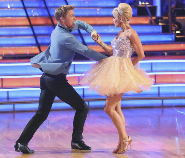 Dancing with the Stars - week 3: Derek Hough and Kellie Pickler
