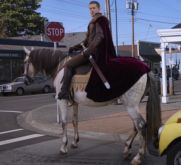 Josh Dallas as Prince Charming/David in Once Upon A Time Season 2