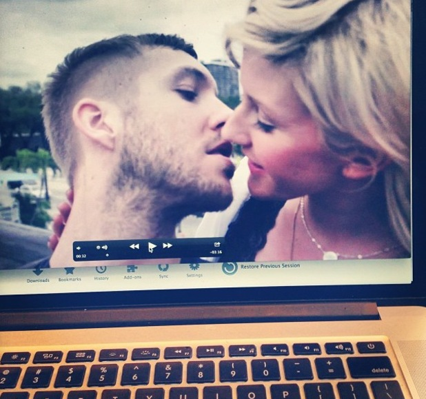 Calvin Harris, Ellie Goulding in I Need Your Love video