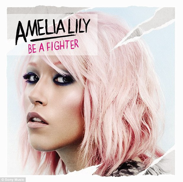 Amelia Lily 'Be A Fighter' album artwork
