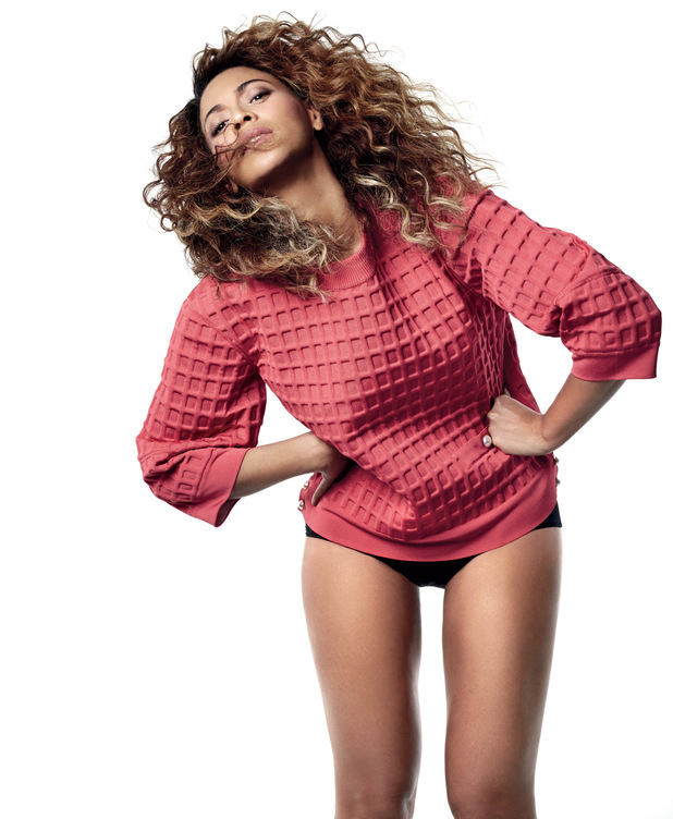 Beyoncé appears in the May edition of British Vogue