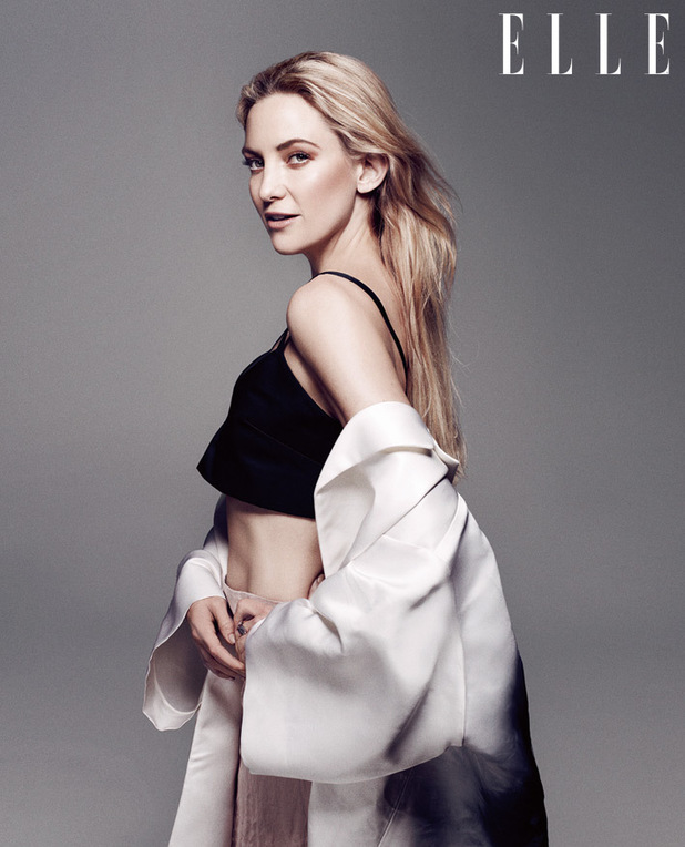 Kate Hudson photo shoot for Elle UK