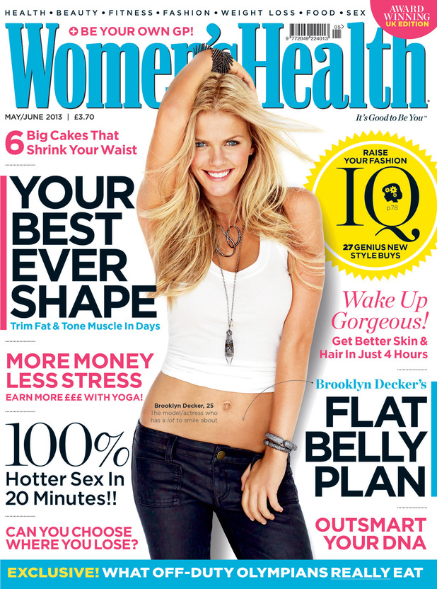 Brooklyn Decker on the cover of Women's Health