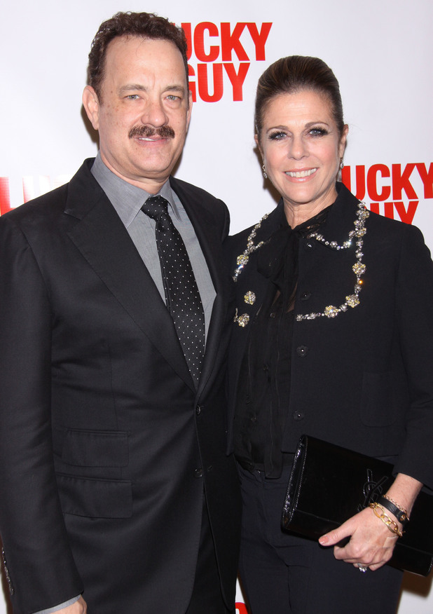 Tom Hanks, Rita Wilson, Lucky Guy, Broadway