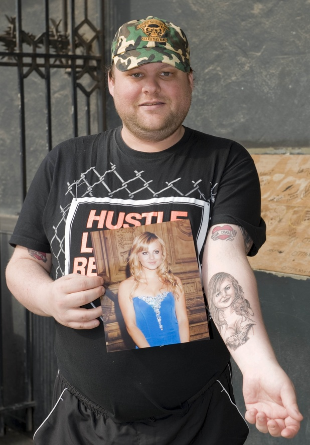 Mental celebrity fan tattoos