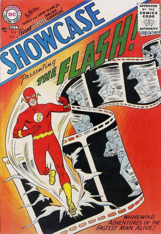 Showcase #4 (The Flash) cover