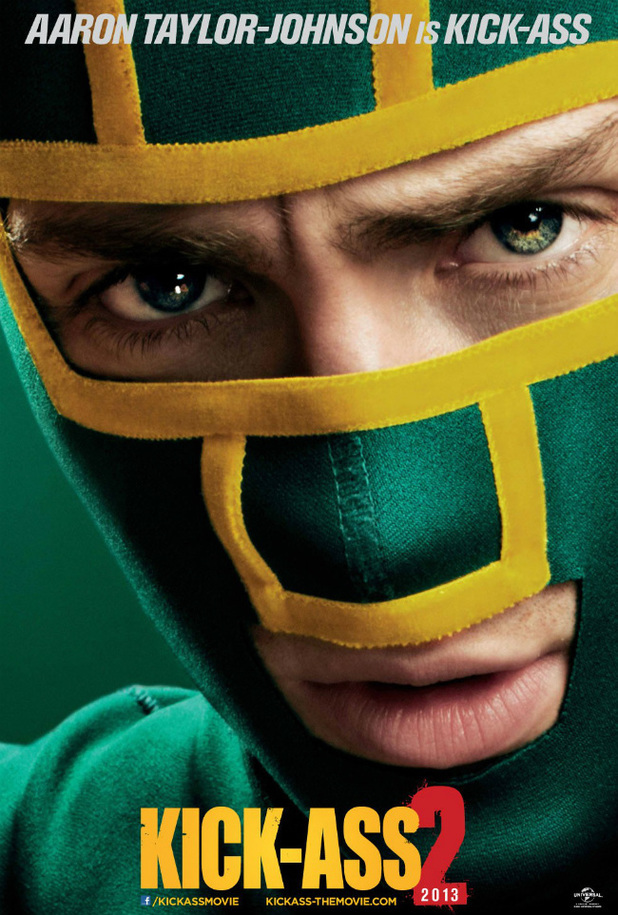 Aaron Taylor-Johnson as Kick-Ass in 'Kick-Ass 2'
