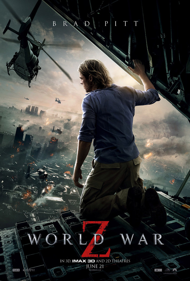 IMAX Poster for Brad Pitt's 'World War Z'