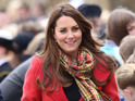 The Duchess of Cambridge is to become a godmother to a cruise ship just before due date.