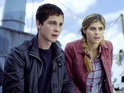 Logan Lerman fails to engage in an occasionally witty but mechanical sequel.