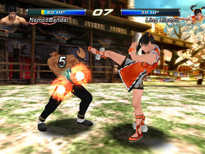 &#39;Tekken Card Tournament&#39; mobile screenshot