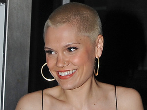 Jessie J, shaved head, sheer dress, fashion, Hunger Magazine Issue 4 'Girls Girls Girls' Launch Party
