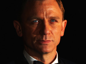 Daniel Craig at the Royal Premiere for 'Quantum of Solace' in 2008