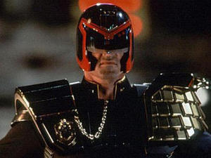 Sylvester Stallone in 'Judge Dredd'