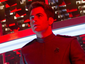 Chris Pine in 'Star Trek: Into Darkness'