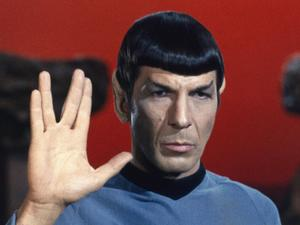 Leonard Nimoy as Spock in Star Trek