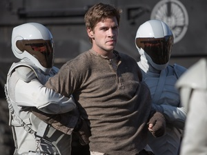 Liam Hemsworth as Gale Hawthorne in The Hunger Games: Catching Fire