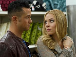 Joseph Gordon-Levitt and Scarlett Johansson in 'Don Jon'.