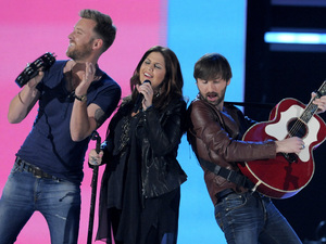 Lady Antebellum perform at the Academy of Country Music Awards 2013